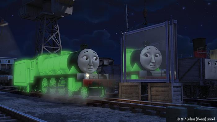 トーマスの仲間、闇に光るヘンリー