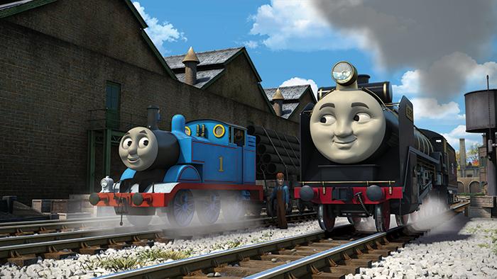 トーマスとヒロ